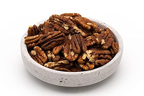 Mitades de nueces gigantes orgánicas - 480g - Extra grande - Sin tostar y sin sal - Alimentos crudos