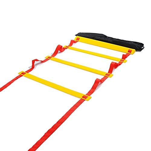 CPY Escalera de Agilidad,Escaleras de coordinación para fútbol,Escalera de Entrenamiento,para Fútbol Baloncesto Tenis Fitness Entrenamiento