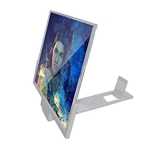 Lupa de pantalla Amplificador de pantalla universal plegable 3D, 12in, 14in, soporte...