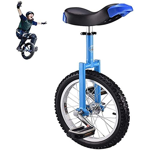 Circular car 18/16-inch single wheel child/boy/girl, 13/14/16/18 years old, 24-inch adult/coach/male balance bike, outdoor fitness exercise (Size : 18inch wheel) JoinBuy.R