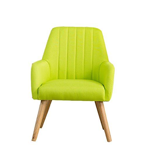 G-Y Sofa Paresseux, Petit Canapé Simple, Chaise De Sofa De Salon, Chaise De Sofa, Toile De Lin (Couleur : Vert)