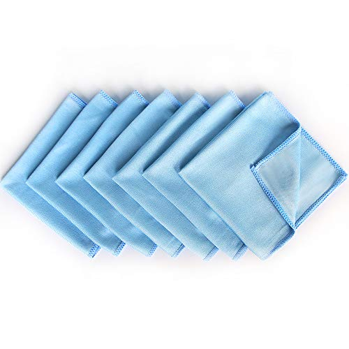 Microfiber Glass Cleaning Cloths x 8 Pack