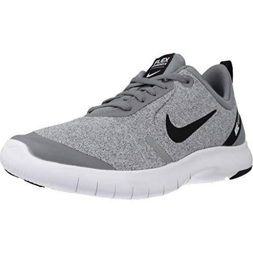 Nike Boy's Flex Experience RN 8 Cool Grey/Black/Reflect Silver/White 5 M US Big Kid