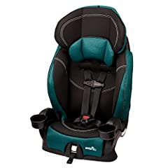 This 2-In-1 Combination Booster Car Seat Fitting Children From 22-110 Lbs. Converts From a 5-Point Harnessed to Belt-Positioning Car Seat Allowing for Extended Use for Your Child Up-Front Harness Adjust: Central, Front Access to Harness Adjuster Prov...