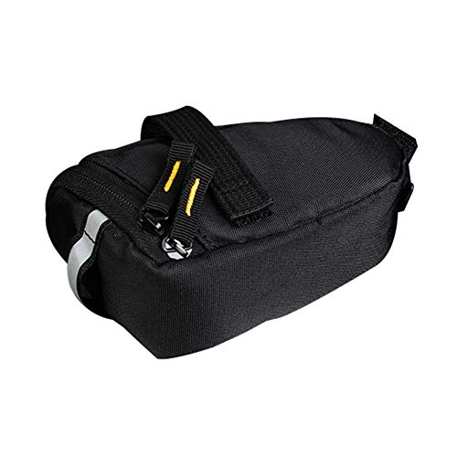 MJuan-Clothing Cycling Equipment1L Tear-Resistant Bike Saddle Bag Cycling Rear Seatpost Pannier Storage Pouch