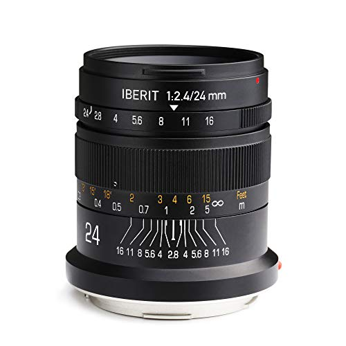 KIPON IBERIT 24mm F2.4 Full Frame Lens for...