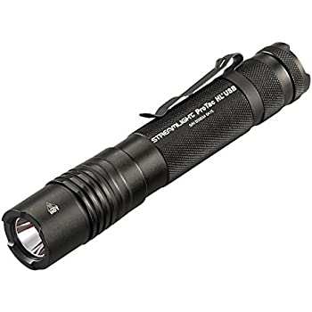 Streamlight 88052 ProTac HL USB 1000 Lumen Professional Tactical Flashlight with High/Low/Strobe - 1000 Lumens