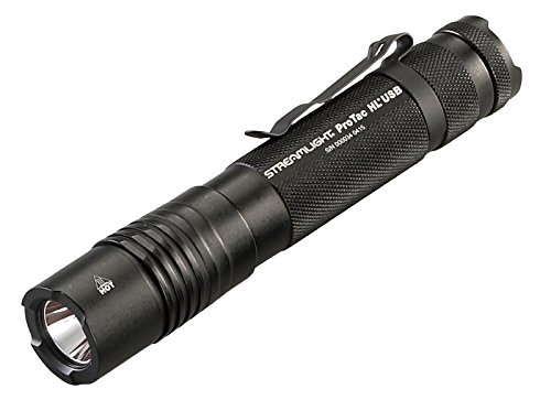 Streamlight 88052 ProTac HL USB 850 Lumen Professional Tactical Flashlight with High/Low/Strobe