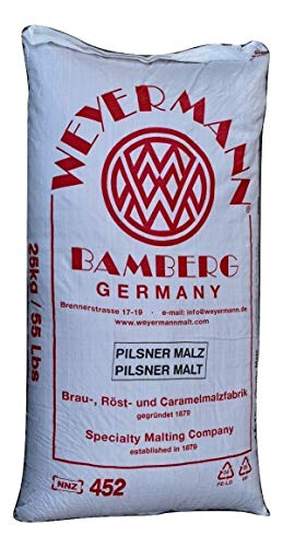 Weyermann® Pilsner Malz 25 kg zum Bier brauen, Made in Germany