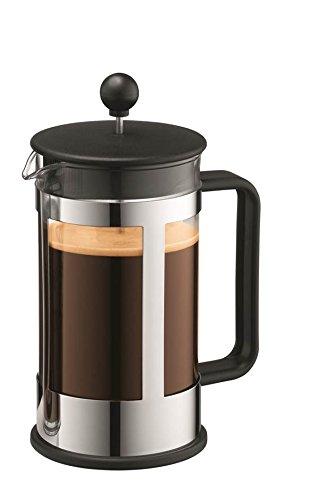 KENYA Kaffeebereiter, 8 Tassen, 1.0 L, Schwarz