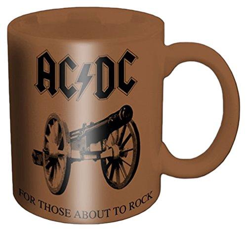 Empire Merchandising 688361 AC/DC para los Que About to Rock cerámica