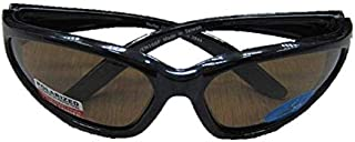 Vaultex Safety Glasses, Brown, Free Size