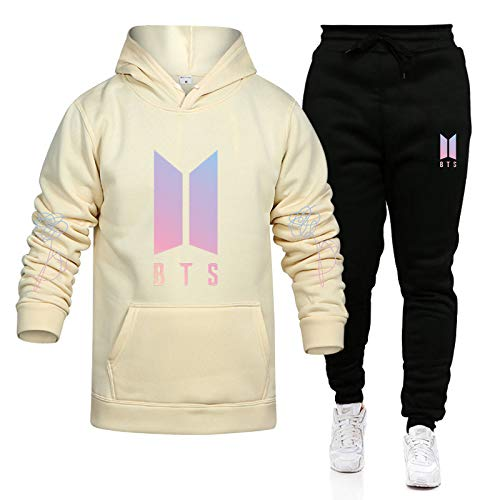 EMPERSTAR Kpop Bangtan Boys Merchandise BTS02 Pullover Hoodie 9 M Frühling Herbst Herbst Winter