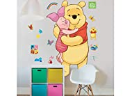 Each pack contains 3 sheets making up 1 Large Character Sticker measuring approximately 4ft (122cm) tall, 1 light switch sticker, 1 personalisable door sticker and additional themed stickers These high quality, easy to apply, self-adhesive wall stick...