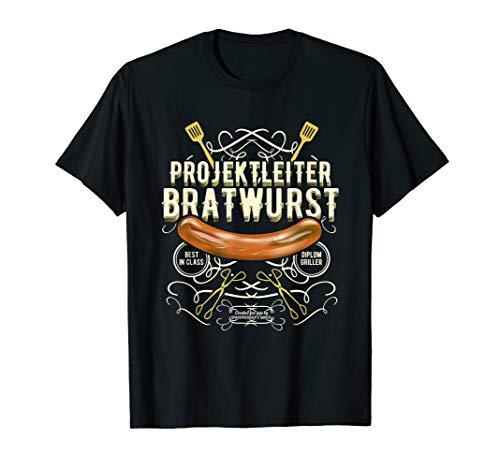 Grill Design Projektleiter Bratwurst | das Original T-Shirt