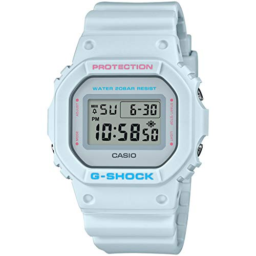 Casio DW5600SC-8 G-Shock Men's Watch Pale Blue 43mm Resin