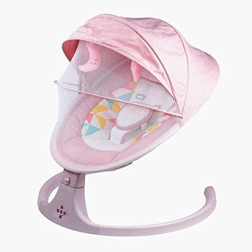 Balancín Eléctrico para Bebé con 3 Amplitudes Oscilantes Reproducción De Música USB...