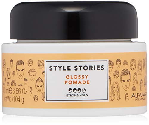 Alfaparf Style stories Glossy pomade 100ml - pommade brillant