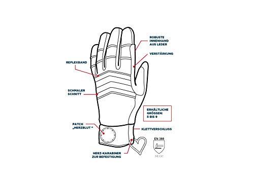 SEIZ Herzblut 800185-HB Damen-Rescue-Handschuh Gr. 7 - 4