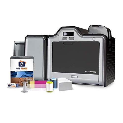 Fargo HDP5000 Dual Side High Definition ID Card Printer &...