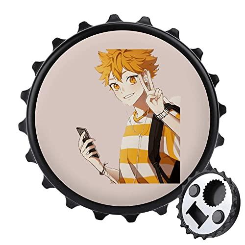 Anime_Hai_kyuu_Hinata Shoyo abrebotellas de una tapa, multiusos abrebotellas de cerveza, decoración de muebles