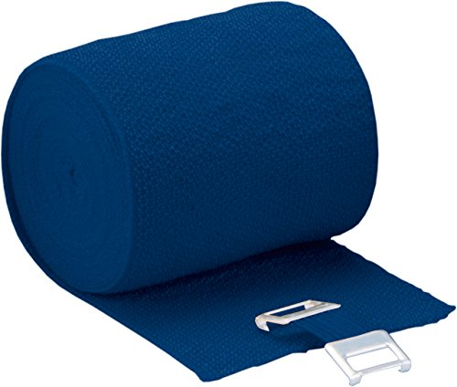 Höga-Pharm Höga-Lastic-Color, blau, 10 cm x 5 m gedehnt, dauerelastische Idealbinde, 1er Pack (1 x 0.059 kg)
