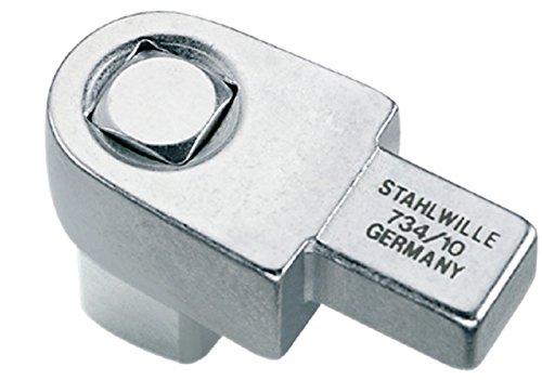 Stahlwille 734 Vierkant-Einsteckwerkzeuge Große 20, 1/2 Zoll für Werkzeugaufnahme, 14,5 x 18 mm, 58240020