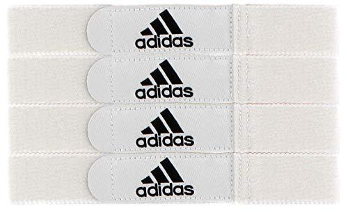 adidas Shin Guard Straps, White, NA