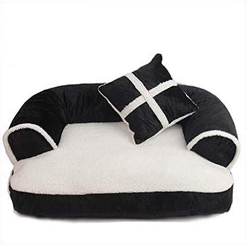 Haustierbett Samt Weiche Gemütliche Weiche Komfortable Warme Dicke Zwinger Haustiere Schlafen Matte Kissen Welpen Sofa