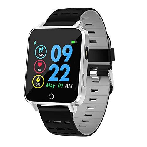 Qimaoo X9 Smartwatch, fitnesshorloge, fitnesstracker, IP68, waterdicht, 1,54 inch, activiteitstracker met stappenteller, hartslagmeter, slaapmonitor, compatibel met iOS Android voor heren en dames