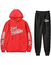 BBCS Hot Julie and The Phantoms Hoodies Tweedelige Set Trainingspak Harajuku Sweatshirts + Jogger Broek Zonsondergang Curve Kleding Dames/Heren Sets