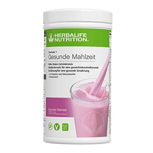 HERBALIFE NUTRITION Batido de Proteina Fórmula 1 Alimento Equilibrado Sabor a Frutos del Bosque - 550g