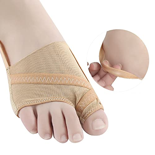 Corrector separador de dedos Hallux Valgus, férulas suaves para juanetes ajustables, alisadores de dedos gordos, separadores Valgus, torcidos y superpuestos, 1 par(L(41-45))