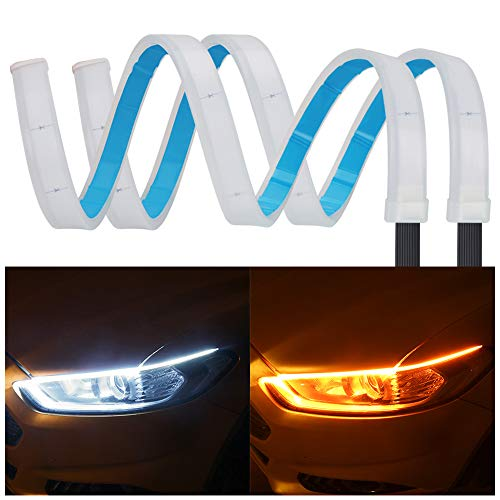 YANF 80211-1 Waterproof Flexible Daytime Running Light Strip
