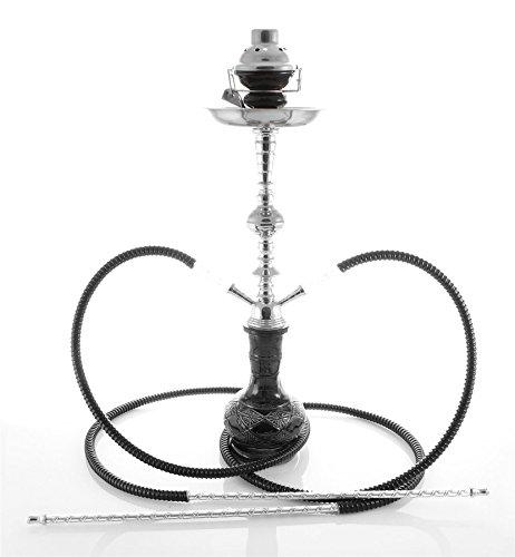 2 Manguera 56 cm Hookah Shisha Narguile agua tubo