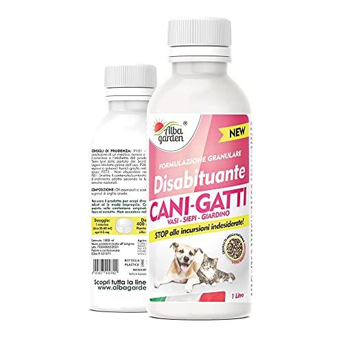 Albagarden - Disabituante Repellente Barriera Cani e Gatti Dissuasore Naturale Per Cattive...