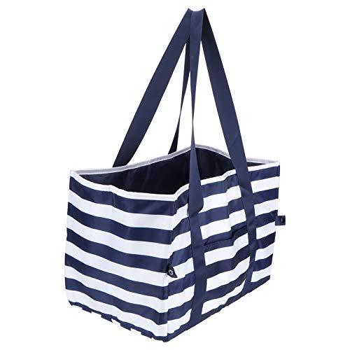 Bolsas para picnic, bolsas de supermercado con aislamiento Bolsas reutilizables para compras de picnic, 15.7'x11' x11.8'pulgadas