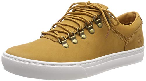 Timberland Adventure 2.0 Cupsole Alpine Oxford, Sneakers Basse Uomo, Giallo Wheat Nubuck, 42 EU