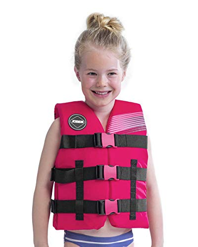 For Sale! Jobe Junior 50N Watersports Waterski Jetski Wakeboarding Safety Impact Vest - Top - Pink -...
