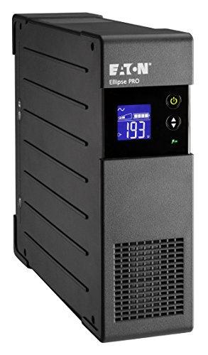 Eaton Ellipse PRO 650 DIN - Unterbrechungsfreie Stromversorgung (USV) 650 VA mit Überspannungsschutz (4 Schuko Ausgänge) und Spannungsregelung (AVR)