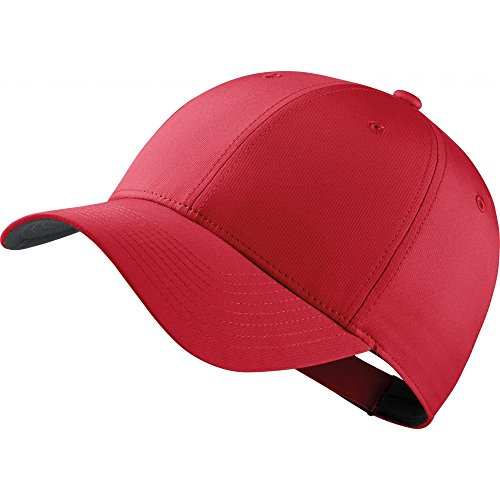 Nike - Gorra Deportiva (Talla Única) (Rojo/Antracita/Blanco)