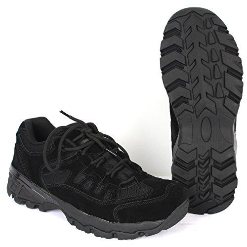 Mil-Tec Chaussures D'Escouade Noires (UK Size 4 - Euro 38)