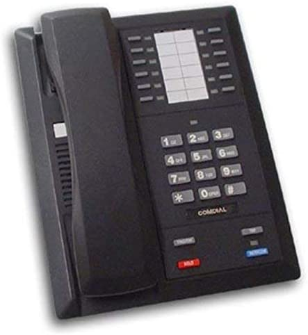 Regular discount Factory outlet Comdial 8112N-GT 12-Button Black Impact Renewed Phone