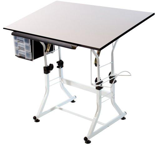 Martin Universal Design Ashley Hobby Creative Table, White