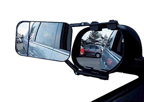 Toolzy 100058 Caravanspiegel Wohnwagenspiegel Caravan Spiegel Clip on Rückspiegel
