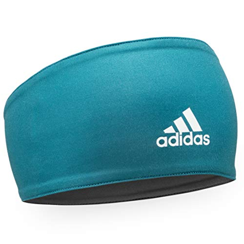 adidas Unisex Polyester Head Band (Real Teal)