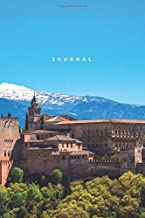Journal: Lined Notebook | Alhambra Granada, Spain (European Architecture) [Idioma Inglés]