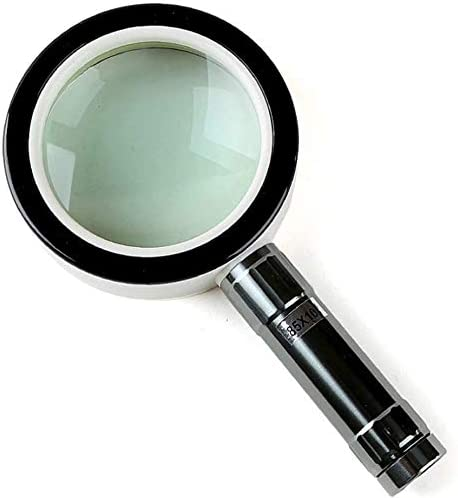 QZMX Magnifier Gift Box 2021 shipfree spring and summer new HD Lighting Magnifying Glass