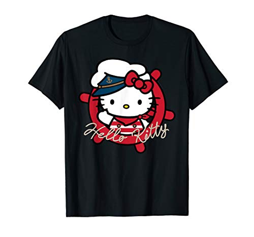 Hello Kitty Seemann Kapitän T-Shirt