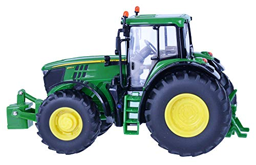 Britains 43150–John Deere, 6195M Tractor, Multicolor